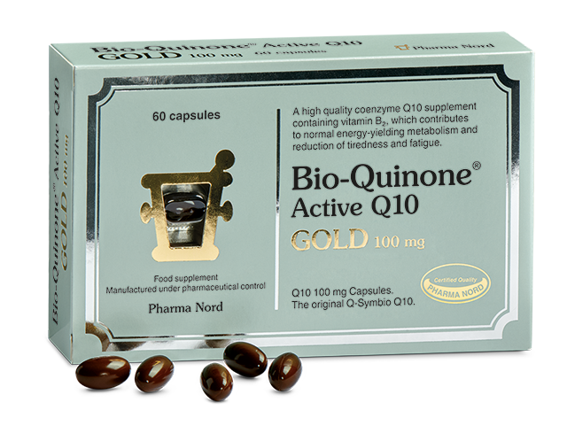 Box with Bio-Quinone Active Q10 GOLD capsules